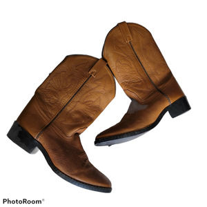 Acme Brown Western Boots